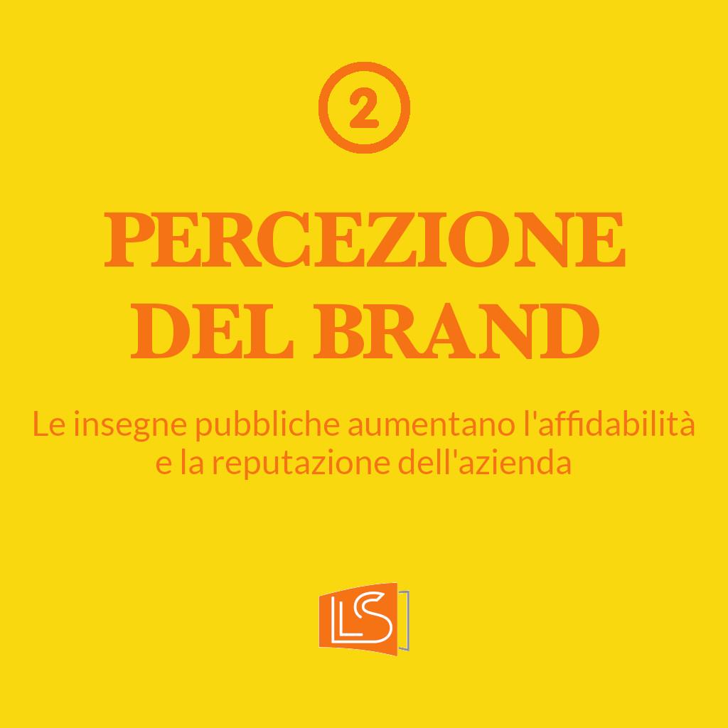 La percezione del brand nella pubblicità outdoor