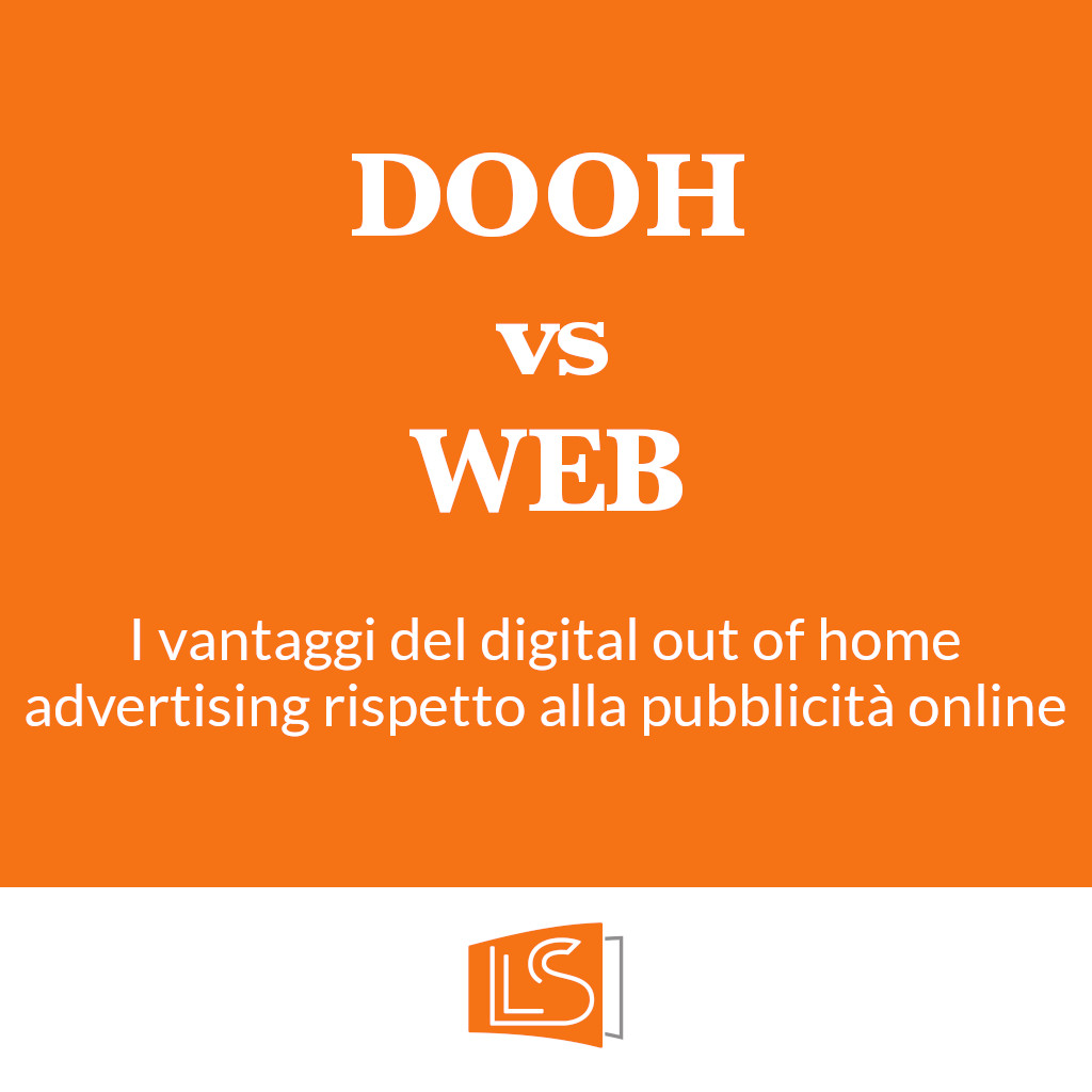 Digital out of home vs web