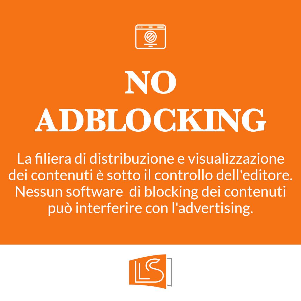 Pubblicità senza ad blocking