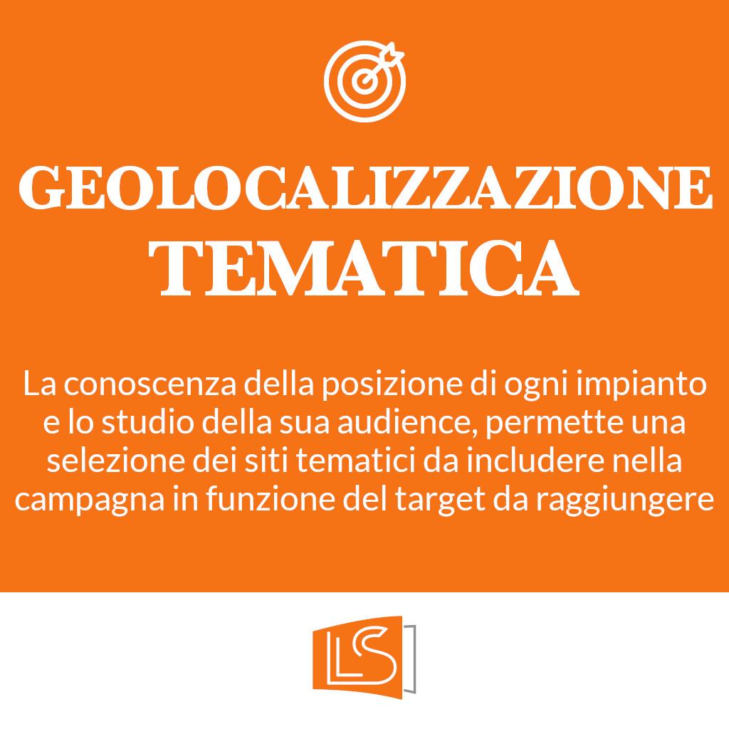 Geolocalizzazione tematica in pubblicità